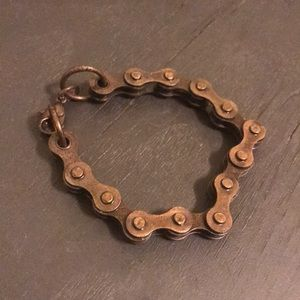 Super Unique Gear Bracelet (copper) one of a kind